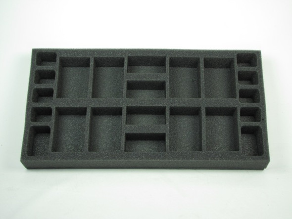 (Gen) Flames of War Generic Artillery Foam Tray (F06BFM-1.5)