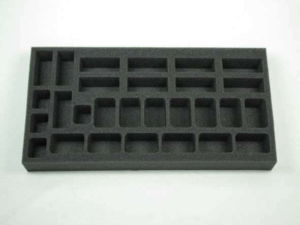 (German) Flames of War German Gepanzerte Panzergrendadierkompanie Foam Tray (G02BFM-1.5)