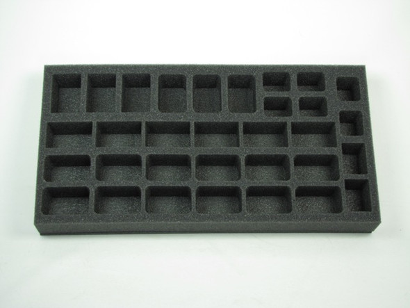(German) Flames of War German Hermann Goring Panzergrenadierkompanie Foam Tray (G05BFM-1.5)