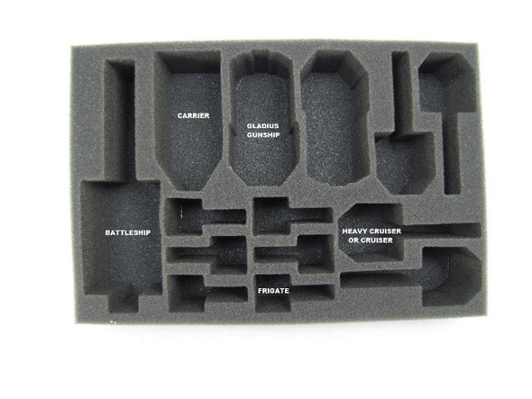 Dindrenzi Federation Starter Box Foam Tray (BFS-1.5)