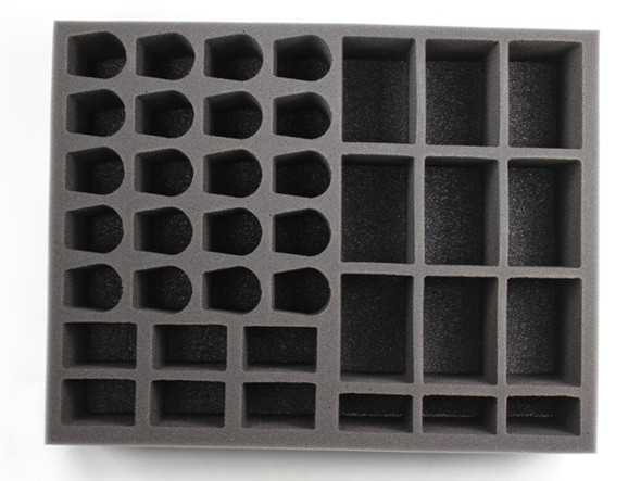 (Tau) 20 Drone 9 Broadside 6 Stealth Suit Foam Tray (BFL-3.5)