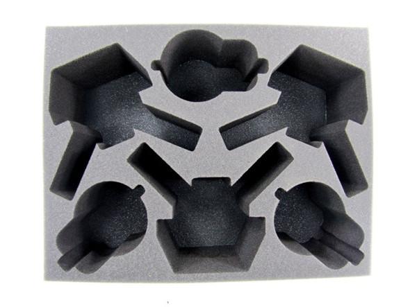(Necron) 3 Triarch Stalker 3 Catacomb/Annihilation Barge Foam Tray (BFL-5)