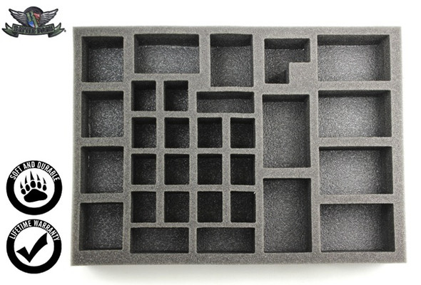DV Starter Box Foam Tray Kit for the Shield/Spear Bag (GW)