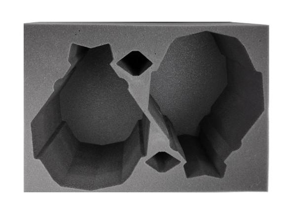 (Necron) 2 Tesseract Obelisk Foam Tray (BFL-8)