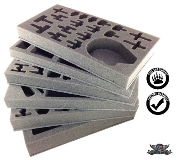 Star Wars with Wave 1-4 Horizontal Foam Kit for the P.A.C.K. 432 (BFM)