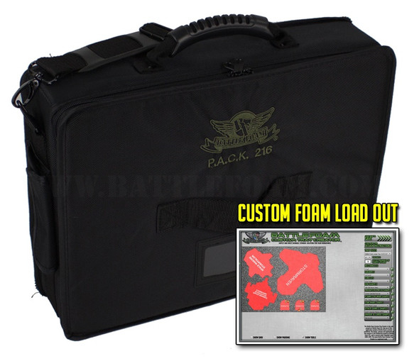 (216) P.A.C.K. 216 Custom Load Out (Black)