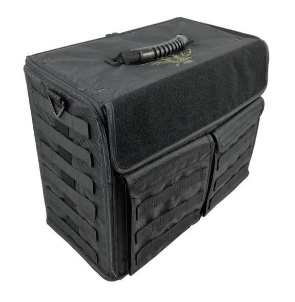 (432) P.A.C.K. 432 Molle Horizontal Custom Load Out (Black)