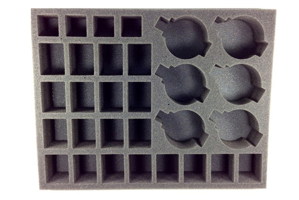 (30K) 24 Heavy Support 6 Rapier Batteries with Bases Foam Tray (BFL-2)