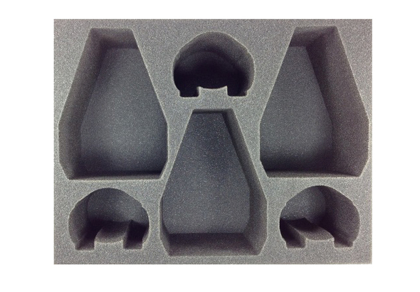 (30K) 3 Dreadnought Drop Pod 3 Contemptor Dreadnought Foam Tray (BFL)