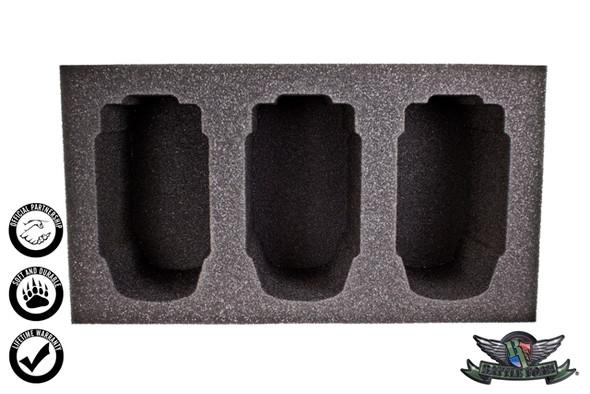 (Lawmen) 3 Judgement Foam Tray (WWX-4.5)