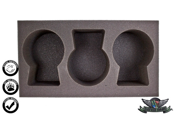(Warrior Nation) 3 Great Elk Foam Tray (WWX-4)