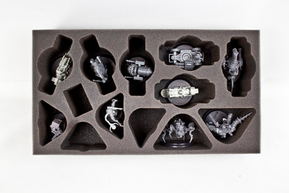 Wild West Exodus Large Model and Light Support Foam Tray (WWX-3)
