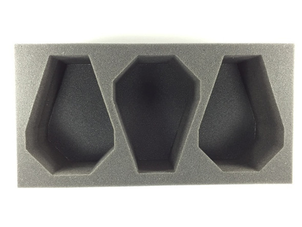(Space Marine) 3 Drop Pod Foam Tray (BFM)