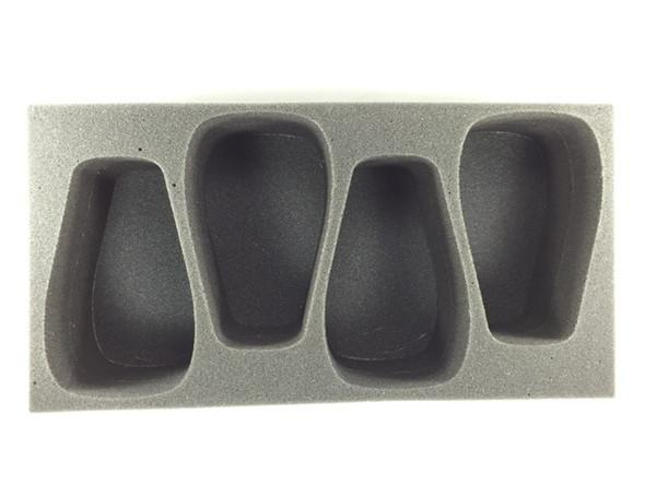 (Tyranids) 4 Carnifex Foam Tray (BFM-4)