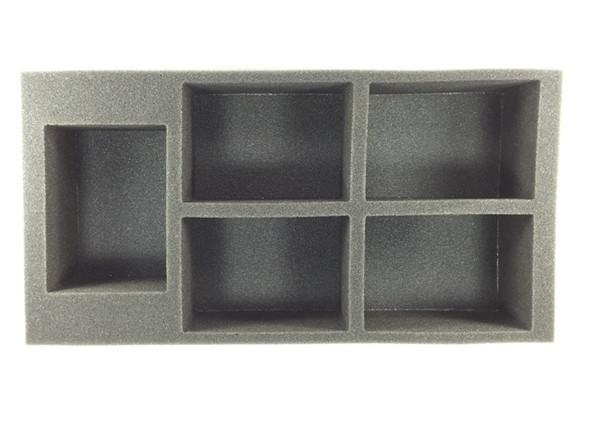 (Space Marine) 5 Rhino Foam Tray (BFM-3)