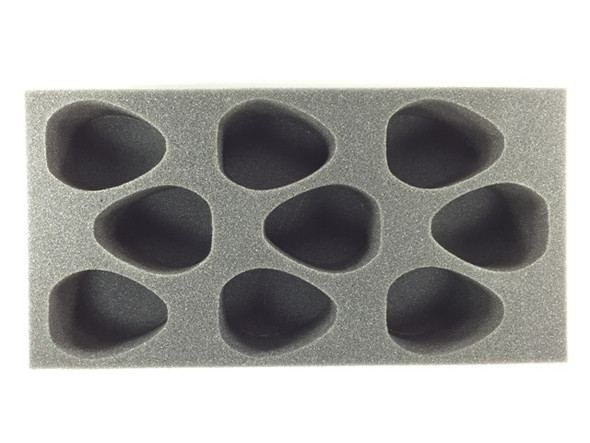 (Necron) 9 Canoptek Wraith Foam Tray (BFM-4)