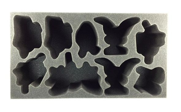(Legion) Legion of Everblight Warbeast Tournament Foam Tray (PP-4)