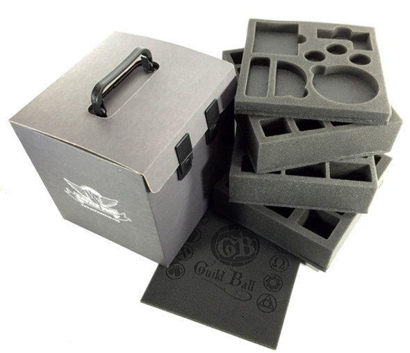 Battle Foam 'D-Box' with Guild Ball Load Out (Black)