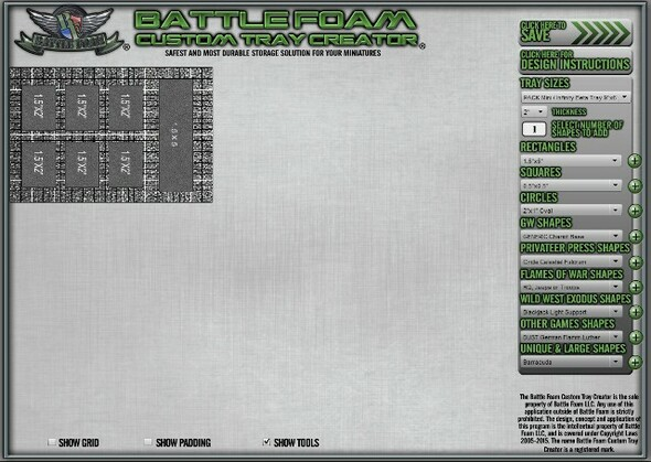 (Custom) Custom Foam Tray for the P.A.C.K. Mini/Beta Bag (MN)