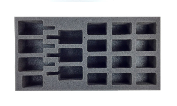 (Team Yankee) Flames of War NATO Artillery Foam Tray (BFM-2)