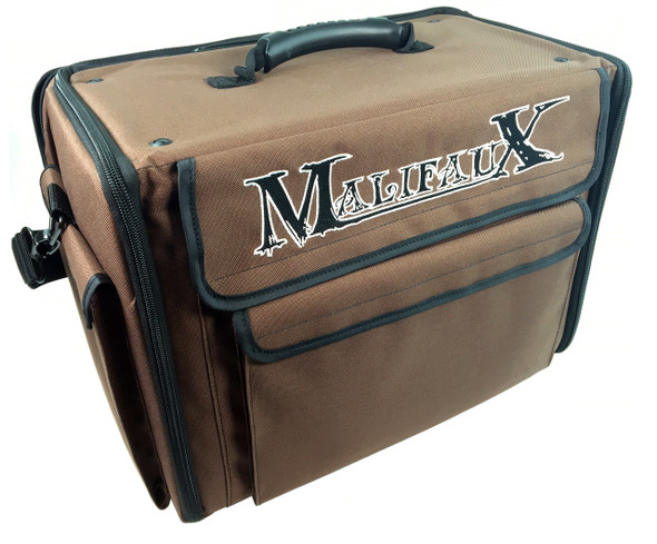 Malifaux Bag 2.0 Custom Load Out (Brown)