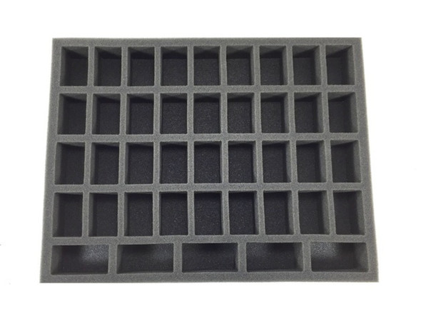 36 Medium 5 Tall Troop  Foam Tray (BFL-1.5)
