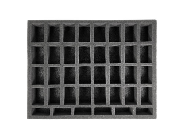 32 Medium 6 Tall Troop Foam Tray (BFL-1.5)