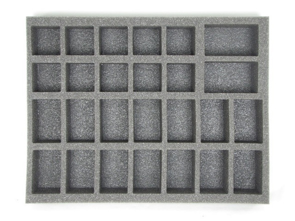14 Large 10 Medium 2 X-Large Troop Foam Tray (BFL)