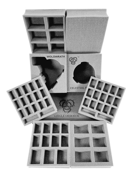 (Hordes) Circle Orboros Half Tray Kit for the Hordes Bag (PP.5)