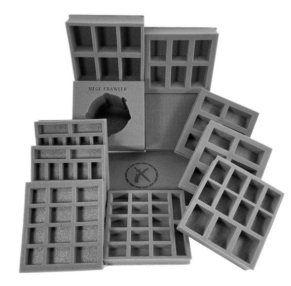(Warmachine) Mercenaries Half Tray Kit for the Warmachine Bag (PP.5)