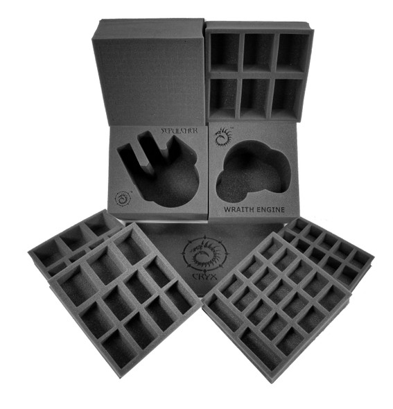 (Warmachine) Cryx Half Tray Kit for the Warmachine Bag (PP.5)
