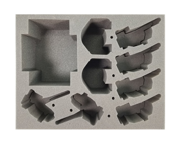 Adeptus Custodes Vehicle Foam Tray (BFL-4.5)
