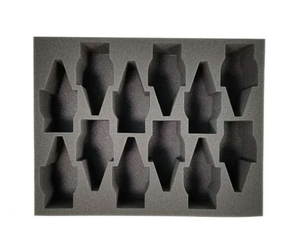(Tau) 12 Broadside Foam Tray (BFL-3)