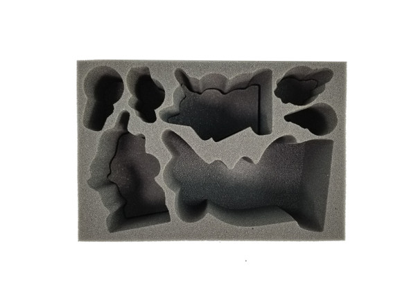 Age of Sigmar Idoneth Deepkin Command Foam Tray (BFS-4)