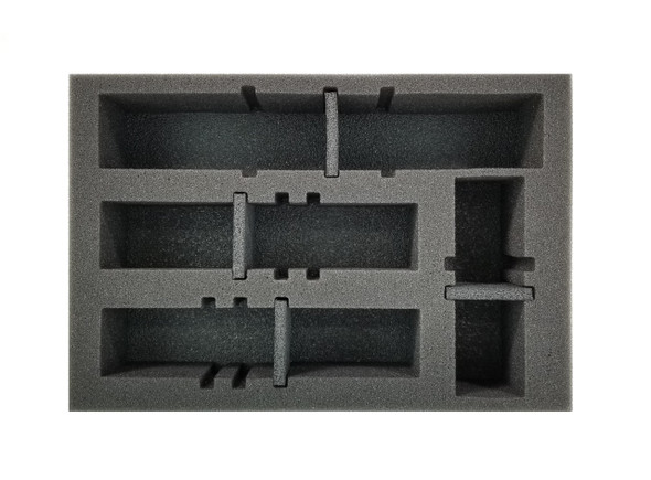 Gaslands 4 Medium Vehicle Modular Slots Foam Tray (BFS-2)