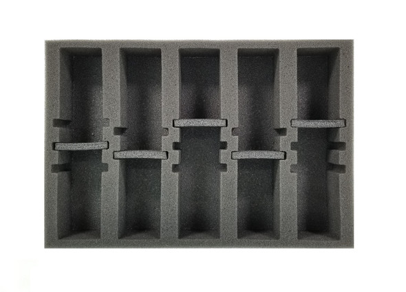 Gaslands 5 Medium Vehicle Modular Slots Foam Tray (BFS-1.5)