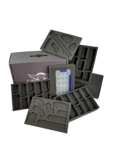 Gaslands Eco Box Half Tray Load Out (Black)
