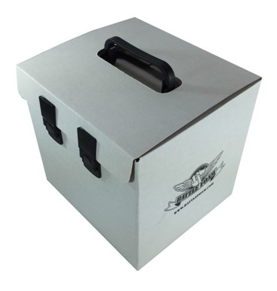 (Clearance) Battle Foam 'D-Box' Empty (White)