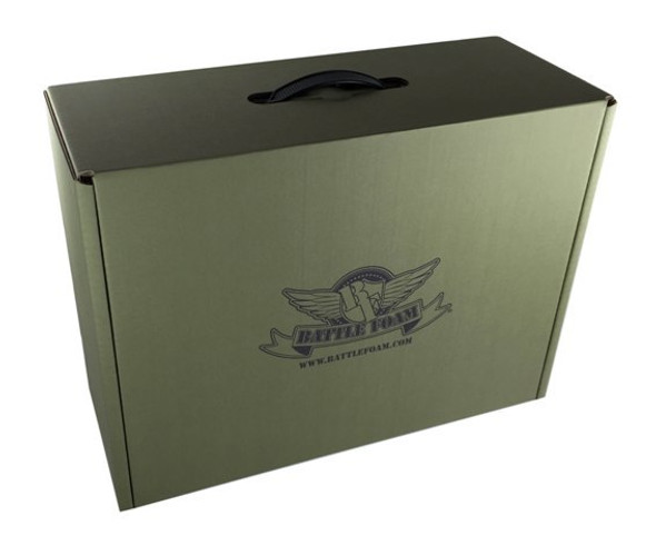 (Clearance) Battle Foam Eco Box Empty (Green)