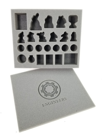 Guild Ball Engineers Foam Kit (BFB)