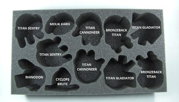 (Clearance) (Skorne) Skorne Beast Foam Tray (PP-3.5)