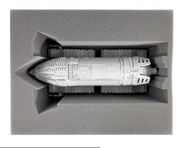(30K) Mechanicum 1 Ordinatus Aktaeus Drill Foam Tray (BFL-6)