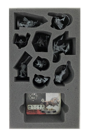 Warcry Untamed Beasts Foam Tray (BFB.5-2)