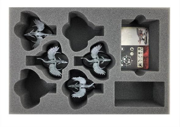 Warcry Chaotic Beasts Raptoryx Foam Tray (BFS-2)