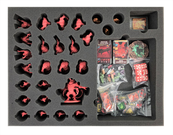 Zombicide Dark Side Extras Foam Tray (BFL-2)