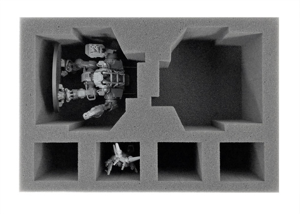 Space Marines 2 Invictor Foam Tray (BFS-3.5)