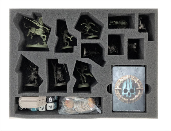 Warhammer Underworlds Beastgrave Core Game Box Foam Tray