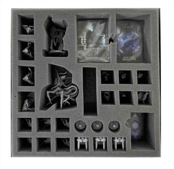 Nemesis Aftermath and Void Seeders Expansion Game Box Foam Tray