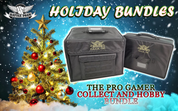 The P.A.C.K. Pro Gamer Collect and Hobby Standard Foam Bundle