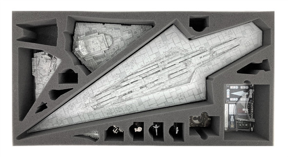 Star Wars Armada Super Star Destroyer Foam Tray (TV-3)